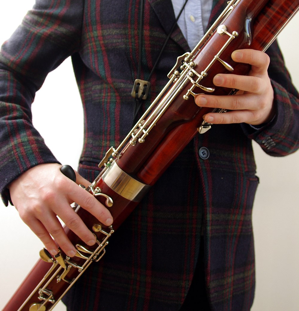 A beautiful second hand Soulsby bassoon being played at Double Reed Ltd.