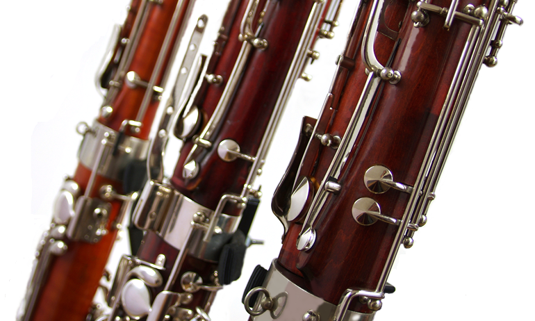 Three commission bassoons at Double Reed Ltd.