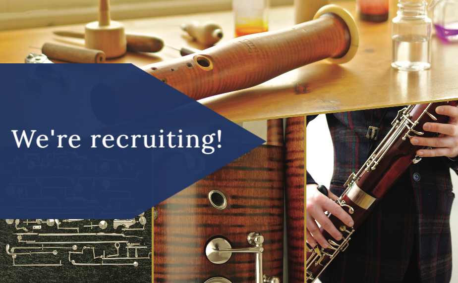 Double Reed Ltd. are currently recruiting for a trainee bassoon repair technician