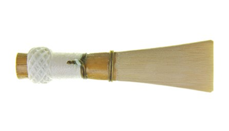 Ludlow mini bassoon reeds for sale at Double Reed Ltd. This is the ideal beginner mini bassoon reed. It has a nice, full tone, without being too hard.  Free blowing and stable in all registers. Also works well as a soft beginner reed on full-sized bassoons. The price fo this reed is £11.45