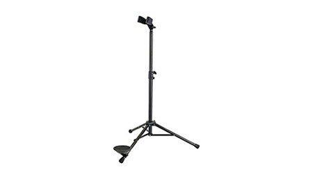 The latest Konig and Meyer bassoon stand (K&M 150/1) for sale at Double Reed Ltd. The price of this adjustable bassoon stand is £84.50