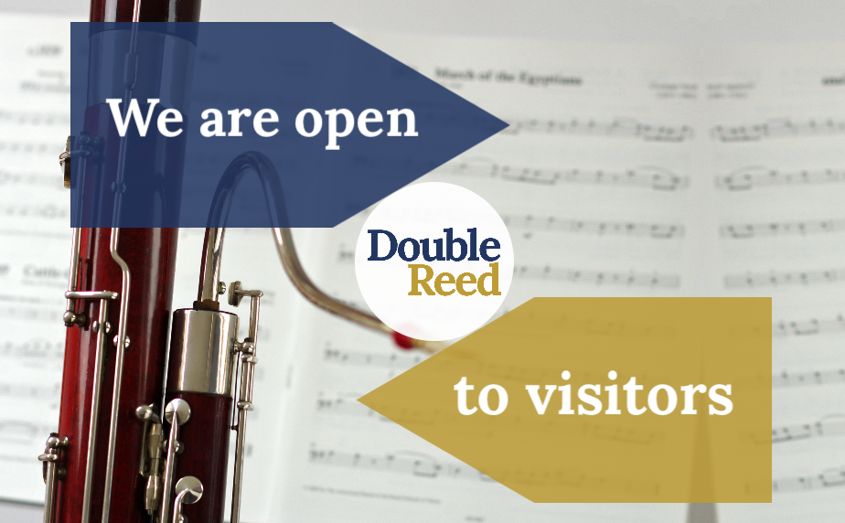 Double Reed Ltd. open to visitors