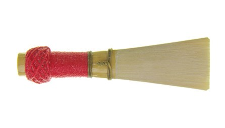 Rieger 1a bassoon reeds for sale at Double Reed Ltd. The Rieger 1a by Rimpl is a great all round reed - good in both the high and low registers. The 1a shape is very popular with reed makers.  The sound is a bit brighter than a Rieger 2 shape reed.  Traditional red binding with a blade tip width of 15.5mm and a throat diameter of 9.5mm. The price of this bassoon reed is £12.45