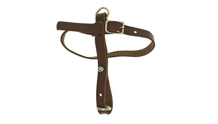 A versatile balance hanger for bassoon, made by Bass Bags, for sale at Double Reed Ltd. This balance hanger helps reduce the weight of the bassoon on the player's left hand by changing the balance point of the bassoon. The price of this balance hanger is £27.50