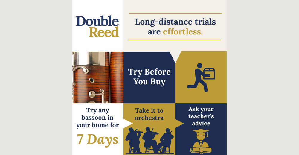 Top quality second hand bassoons for sale at Double Reed Ltd.