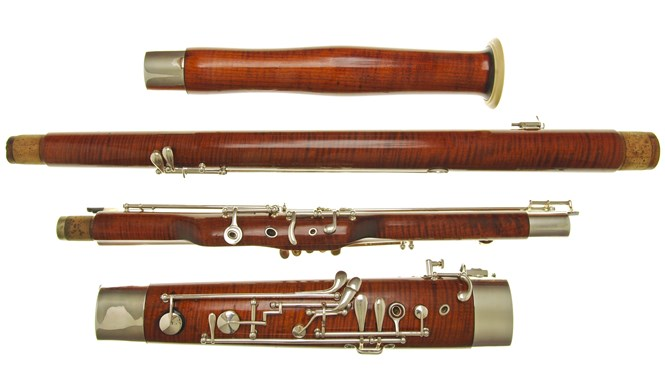 A second hand Heckel 4000 bassoon for sale in outstanding condition. The bassoon has just been fully overhauled by Double Reed Ltd. and is now in excellent playing order.