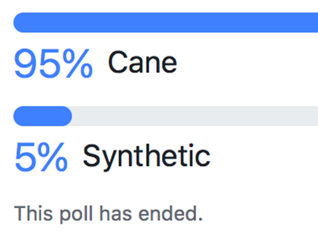 Double Reed Ltd. Facebook poll with 433 votes: Which is best – cane or plastic bassoon reeds?