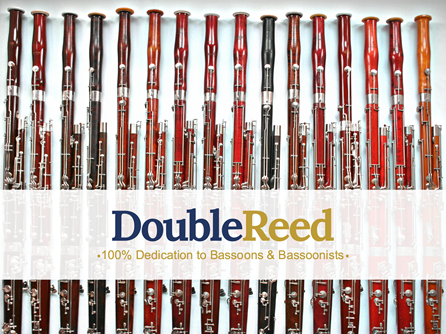 Second hand commission sale bassoons in a row at Double Reed Ltd.