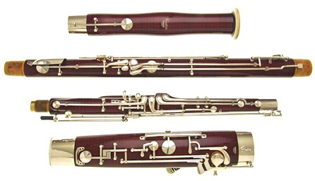 A second hand Yamaha 811 professional bassoon for sale at Double Reed Ltd.