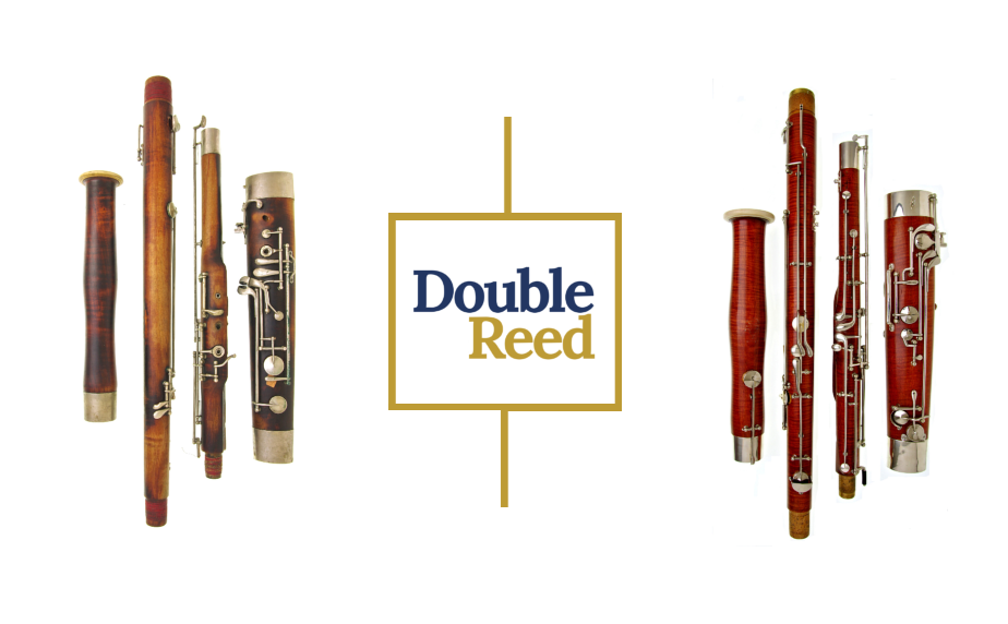 A 1920s G. Mollenhauer bassoon (left) and a pre-war Kohlert bassoon being restored at the Double Reed Ltd. bassoon repair workshop