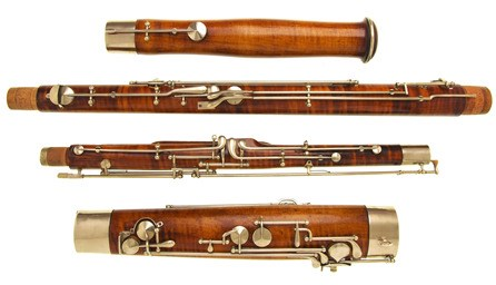 A beautiful second hand Conrad Mollenhauer bassoon for sale at Double Reed Ltd. The price of this used bassoon is £4500
