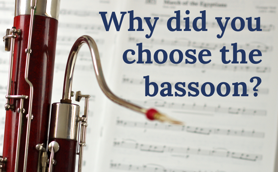 Why did you choose the bassoon?