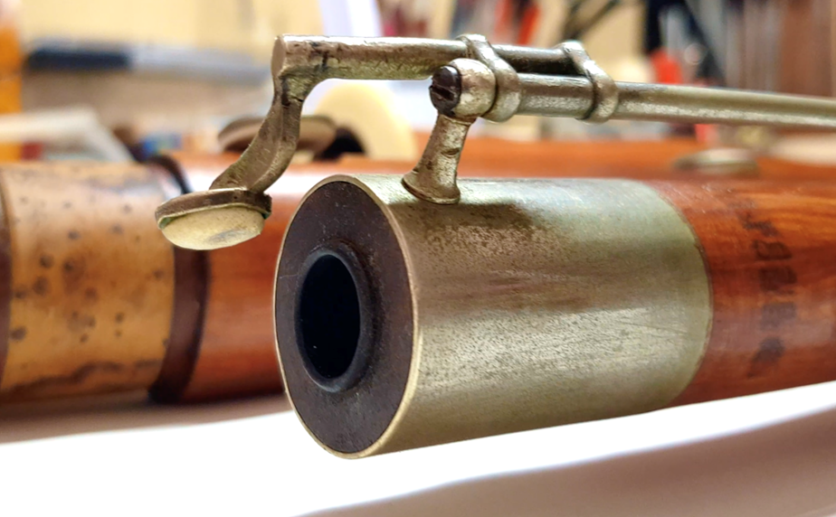 Heckel bassoon restoration - before & after!
